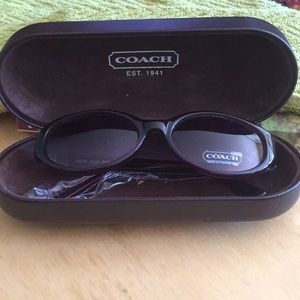 New without tags Coach sunglasses